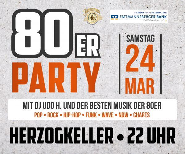 80er-Party